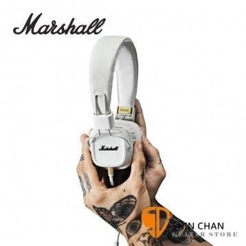 英國 Marshall Major II (白)有線耳機/內建麥克風  耳罩式耳機