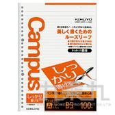 【九乘九購物網】日系潮流 KOKUYO Campus 26孔點線活頁紙 KONO-836AT