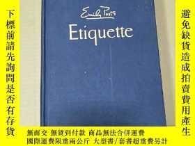 二手書博民逛書店etiquette--emily罕見postY8088 emil