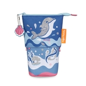 Tiger Family FunTime伸縮筆袋 -悠遊海豚