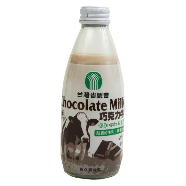 台農巧克力保久乳250cc*24入