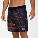Hurley M PHTM CLARK LITTLE LAVA 18 BLACK 海灘褲-(男)