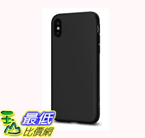 [106美國直購] 手機保護殼 Spigen Liquid Crystal Slim Protection and Premium Clarity iPhone X (2017) Matte Black