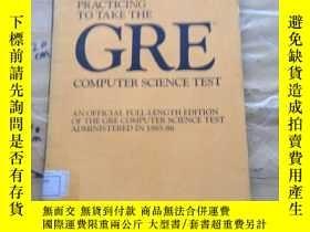 二手書博民逛書店PRACTICING罕見TO TAKE THE GRE COMPUTER SCIENCE TESTY25240