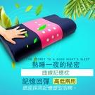 金德恩 台灣製造 曲線塑型透氣記憶枕/附枕頭套/兩種可選/M/L/彈性
