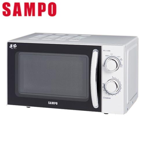 ◤A級福利品‧數量有限◢ 【聲寶SAMPO】20L機械式轉盤微波爐 RE-N820TR