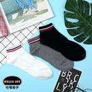 【正韓直送】條紋加大短襪 韓國襪子 船襪 韓襪 男襪 船型襪 禮物 型男必備 哈囉喬伊 M22
