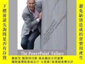 二手書博民逛書店The罕見PowerPoint FallacyY405706 Matthias Poehm ISBN:978