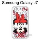 迪士尼空壓透明軟殼 [主題] 米妮 三星 J700F Galaxy J7【Disney正版授權】