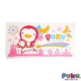 PUKU 藍色企鵝-長方浴巾-60*114CM 粉色/二色可選 大樹