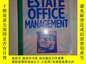 二手書博民逛書店REAL罕見ESTATE OFFICE MANAGEMENT【6