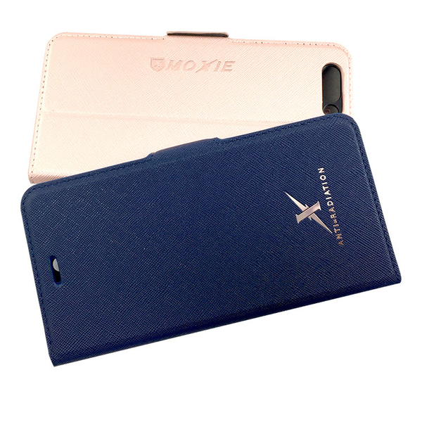 Moxie X-Shell ASUS ZenFone 4 (ZE554KL) / 摩新 ASUS ZenFone 4 (ZE554KL) 防電磁波手機套 藍