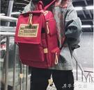 書包女原宿ulzzang初中高中大學生chic後背包大容量背包 千千女鞋