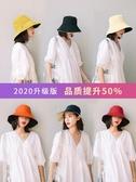 牛仔帽漁夫帽女日系網紅款太陽帽子夏天韓版潮百搭薄款時尚遮陽帽防曬帽快速出貨