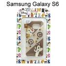 迪士尼透明軟殼 Samsung G9200 Galaxy S6 [最佳拍檔] 奇奇&蒂蒂【Disney正版授權】