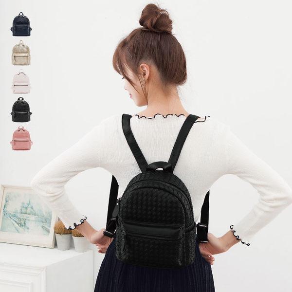 後背包 編織包 可愛立體後背包 女包 89.Alley-HB89190