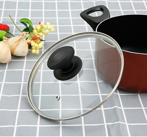 鋼化玻璃鍋蓋玻璃蓋子炒鍋鍋蓋透明大小不粘鍋鍋蓋把手家用30/32 LX 【限時特惠】