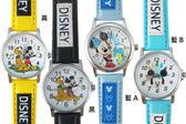 【卡漫城】 迪士尼 Mickey 皮革 卡通錶 ㊣版 米奇 米老鼠 兒童表 手錶 女錶 男錶