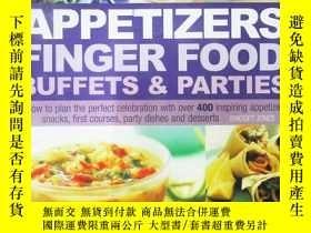二手書博民逛書店Appetizers罕見Finger Food Buffets