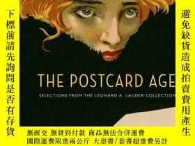 二手書博民逛書店The罕見Postcard Age: Selections fr
