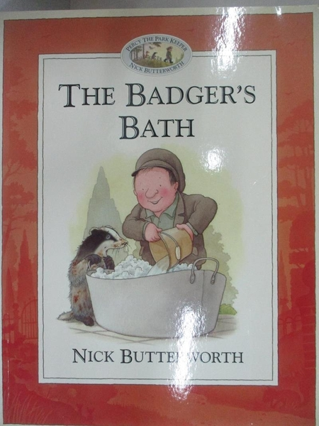 【書寶二手書T1/少年童書_D65】The Badger s Bath_Nick Butterworth text&illustrate