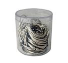 《享亮商城》Q09703 卡片環 1-1/4吋(鍍鎳)-PS圓桶50入