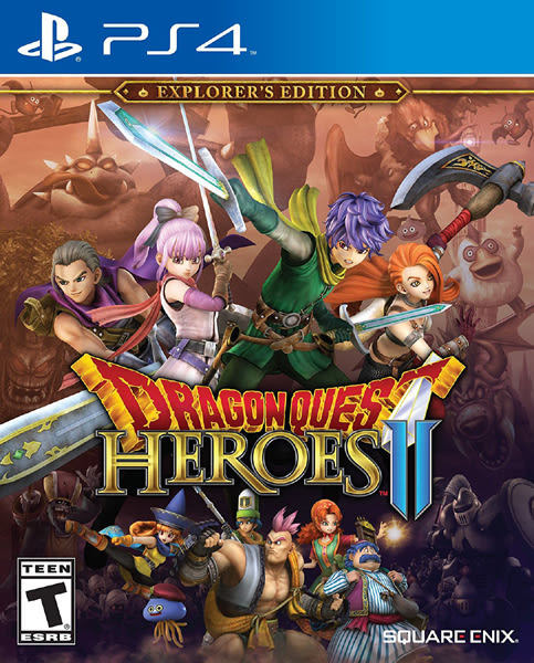 PS4 勇者鬥惡龍英雄 集結II 雙子之王與預言的終焉(美版代購)
