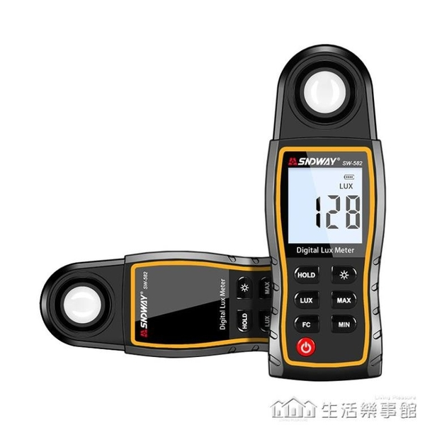 深達威高精度測光儀光照度計測量儀LUX光度測量亮度計測試儀 NMS樂事館新品