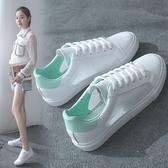 快速出貨 小白鞋女 百搭學生透氣鏤空網面板鞋ulzzang帆布鞋