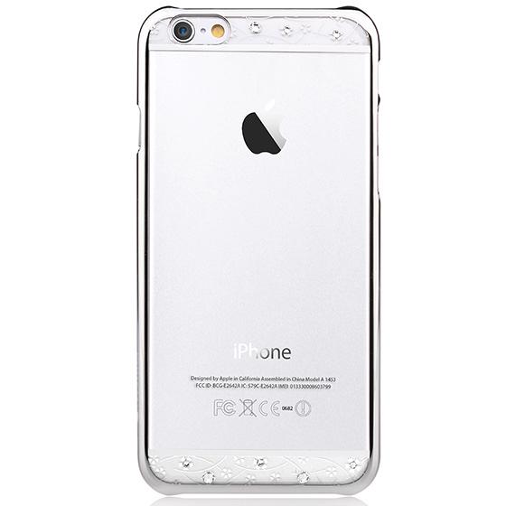【鼎立資訊】  Comma iPhone 6/6s 星空 水鑽 電鍍 外殼 (銀色邊)