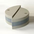 easyoga|瑜珈磚|高優質瑜珈半月磚(2個/組) - 灰綠色 YAE-201 G7