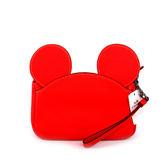 【COACH】MICKEY皮革手拿包(有把手)(紅色) F59529 QBBRD