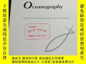 二手書博民逛書店Journal罕見of Oceanography Progress in Chemical Biological