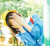【小黃帽】復古文藝燈芯絨黃色漁夫帽盆帽遮陽帽可愛軟妹情侶帽【時尚家居館】