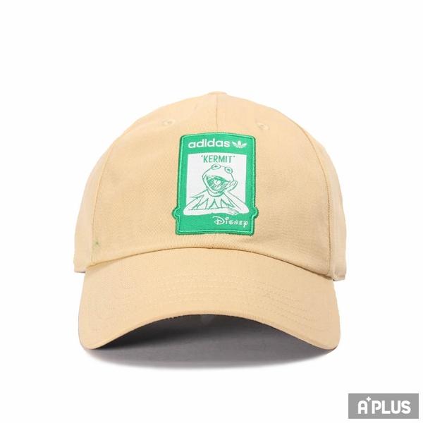 ADIDAS 男女 運動帽 NOT EASY CAP DISNEY 科米蛙 聯名款 -GN2290