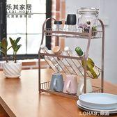 調料架子置物架油鹽醬醋瓶佐料儲物架廚房台面收納整理架調味品架 樂活生活館