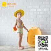 黃色小鴨兒童沐浴帽洗頭帽隔水洗發帽寶寶浴帽880275 宜品