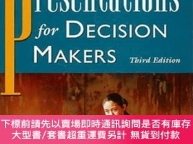 二手書博民逛書店Presentations罕見For Decision Makers, 3rd EditionY256260