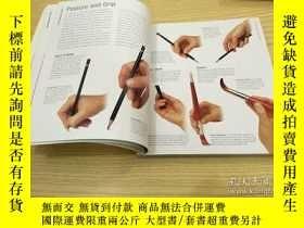 二手書博民逛書店The罕見Drawing Book水彩素描 技法Y335736