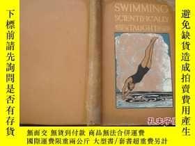 二手書博民逛書店swimming罕見scientifcally taught教遊