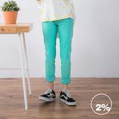 【2%】2%twopercent合身彈力內搭長褲-兩色