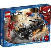 樂高積木 LEGO《 LT76173 》SUPER HEROES 超級英雄系列 - 蜘蛛人&惡靈戰警vs血蜘蛛 / JOYBUS玩具百貨