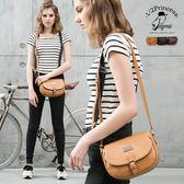 1/2princess 二代復古皮革經典mini馬鞍包 肩背斜背二用包-3色[A2733]