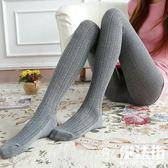 秋冬麻花打底褲襪中厚絲襪連體襪棉打底襪 魔法街