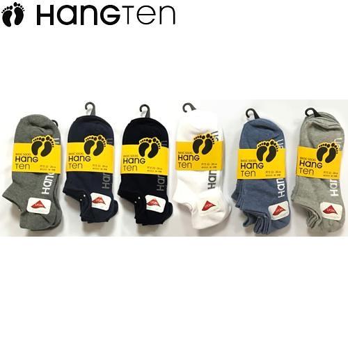 HANG TEN 隱形襪-3雙裝(22~26cm)【愛買】