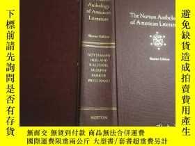 二手書博民逛書店The罕見Norton Anthology of American Literature:Shorter Edit