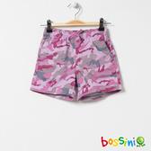 印花輕便短褲08粉色-bossini女童