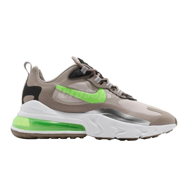 【四折特賣】Nike 休閒鞋 Air Max 270 React 卡其 綠 氣墊 慢跑鞋 男鞋 【ACS】 CQ4598-231