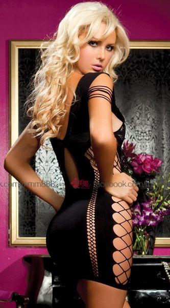 衣美姬♥歐美性感火洞洞透視 睡衣 成人COSPLAY 扮演 派對服裝 視覺饗宴!情趣套裝