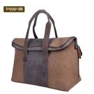 【TROOP】傳統簡約HERITAGE旅行包/TRP0392BN(棕色)